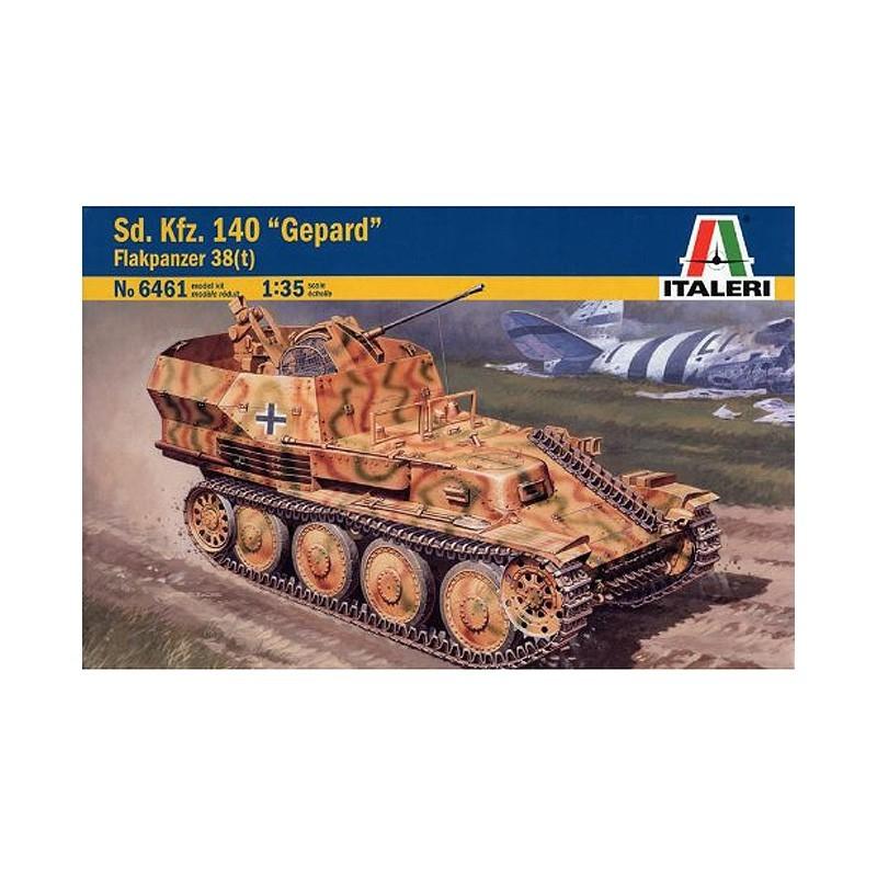 Italeri 6461. 1/35 Blindado Sd.Kfz.140 Gepard