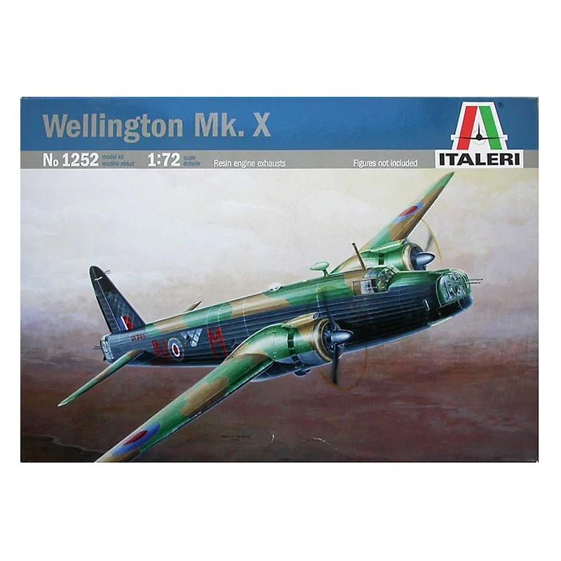 Italeri 1252. 1/72 Avión Wellington Mk.X