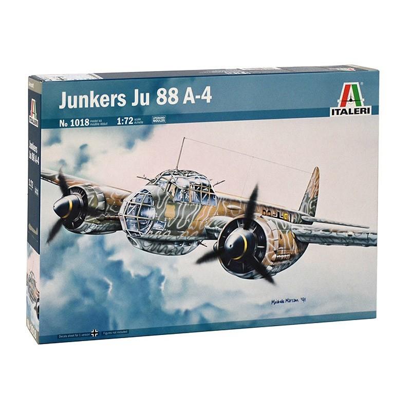 Italeri 1018. 1/72 Avión Junkers Ju 88 A-4