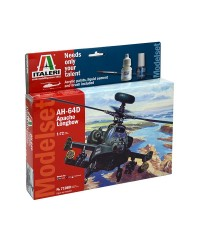 Italeri 71080. 1/72 Kit AH-64D Apache Longbow