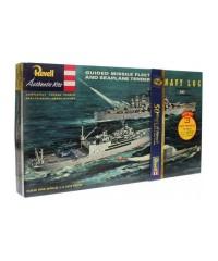 Revell G333. 1/350 Kit 2 Barcos y 1 Submarino