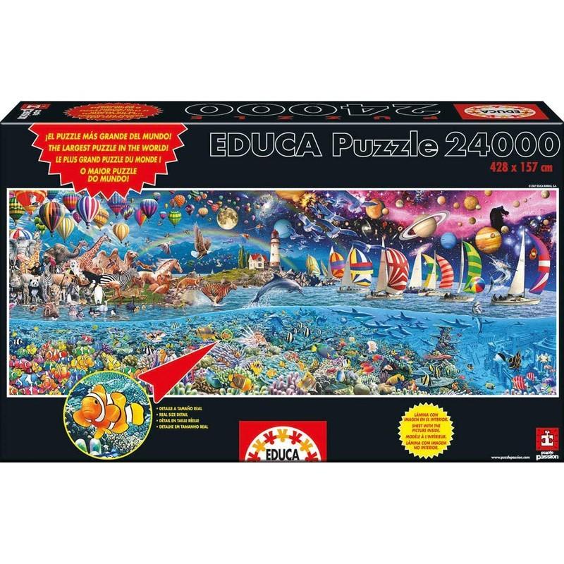 13434. Puzzle Educa 24000 piezas Vida, El Mayor Puzzle