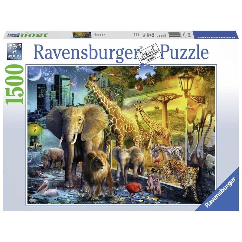 Ravensburger 16362. Puzzle 1500 Piezas Portal Animales