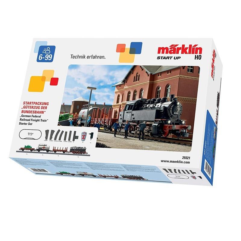Marklin 29321. Set Iniciación H0 German Federal