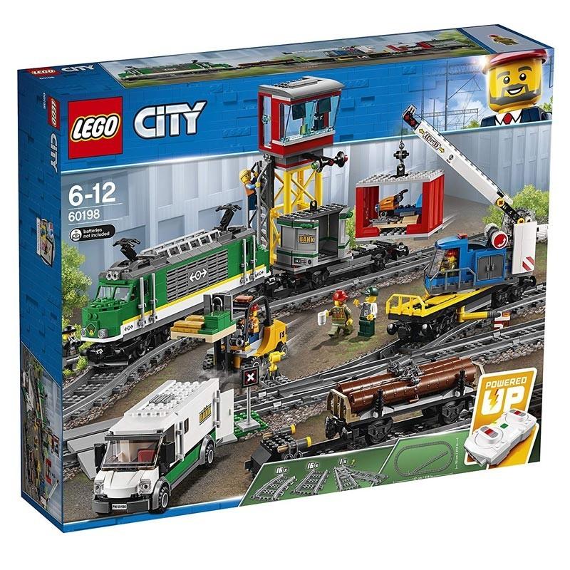 Lego 60198. Circuito Tren de Mercancias