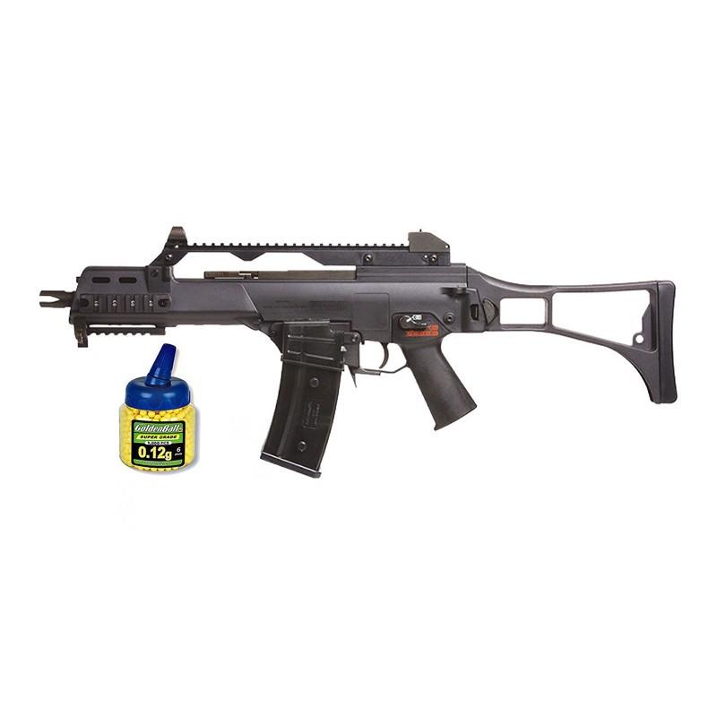 Zasdar SR36C2. Pack Rifle Airsoft SR36C Eléctrico