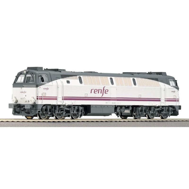 Roco 62728. Locomotora H0 Renfe 333.107