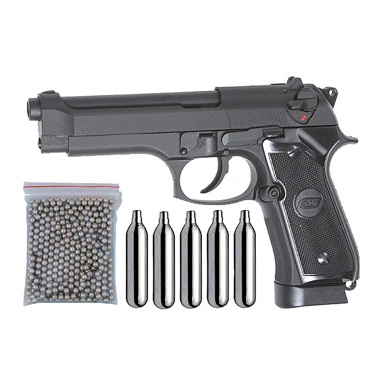 ASG 18526. Pack Pistola X9 Classic Blowback