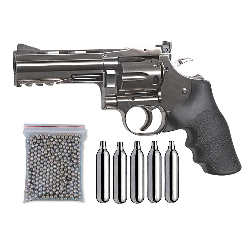 ASG 18611. Pack Revólver Dan Wesson 715 29318/38123