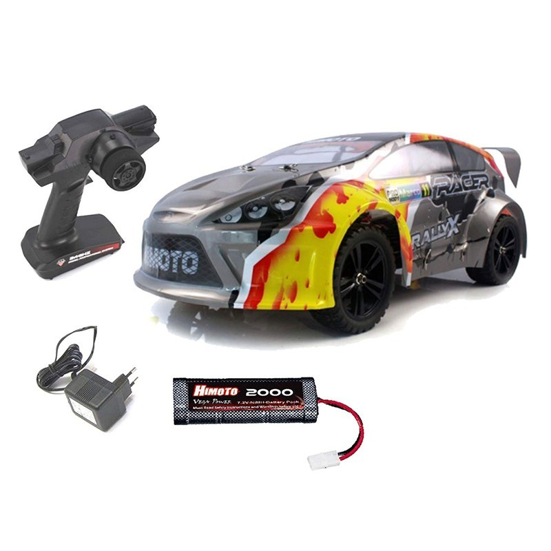 Himoto E10XR. 1/10 Coche RallyX Racer Brushed