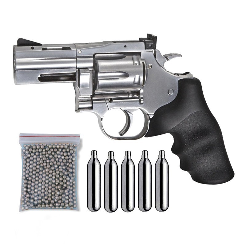 ASG 18614. Pack Revólver Dan Wesson 715 29318/38123
