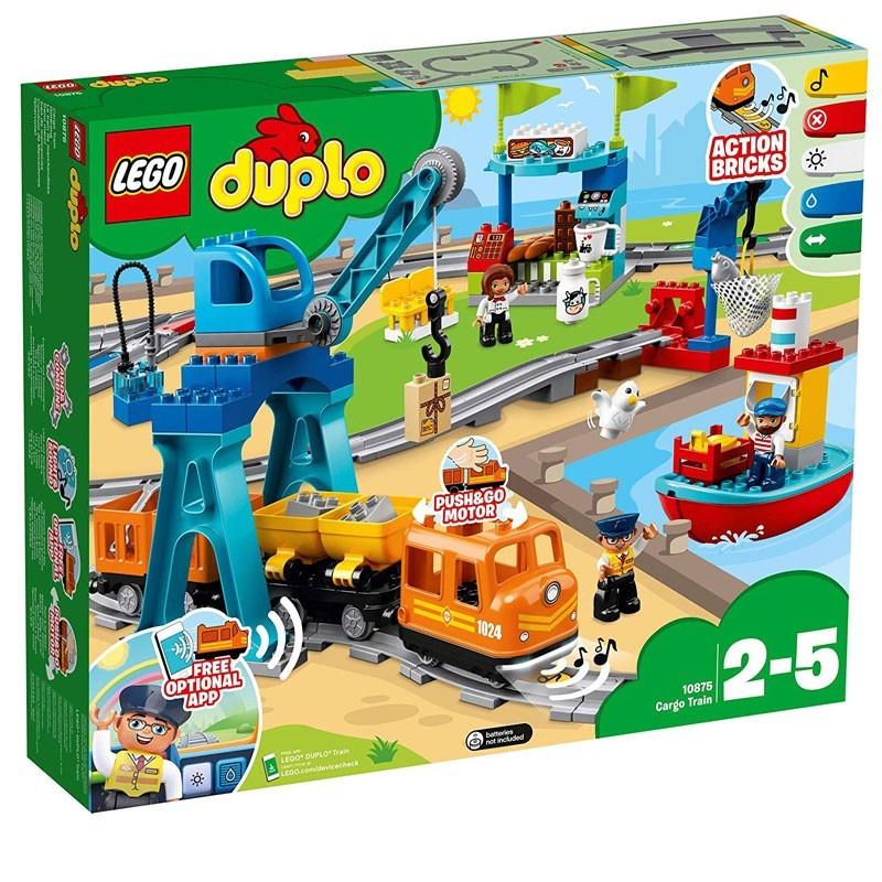 Lego 10875. Tren de Mercancías