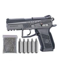ASG 16726. Pack Pistola CZ 75 P-07 Duty Blowback 29318/38123