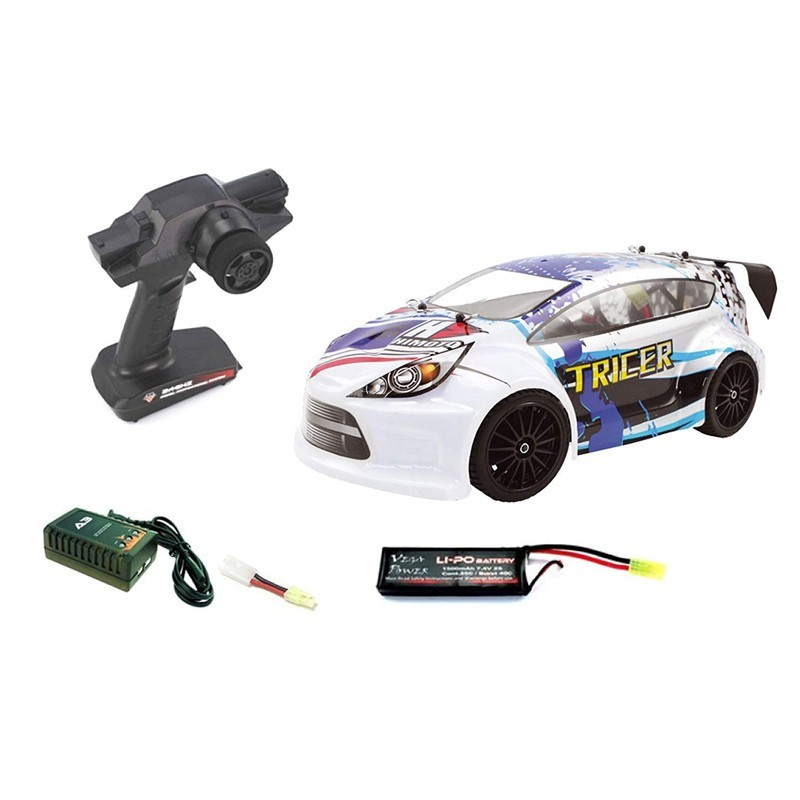 Himoto E18ORL. 1/18 Coche Rallye Tricer Brushless