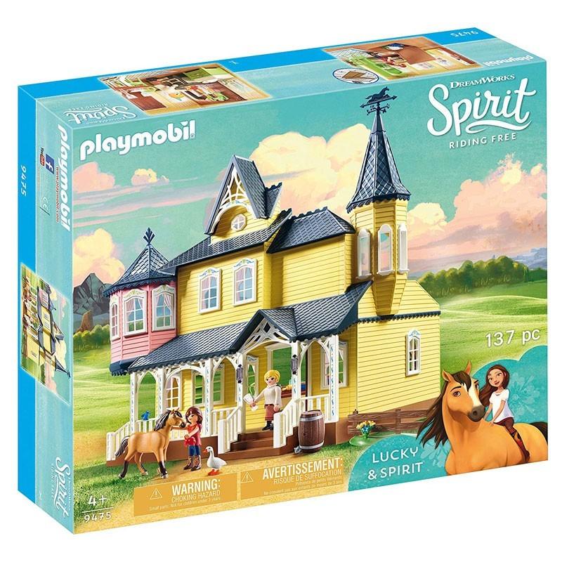 Playmobil 9475. Casa de Lucky