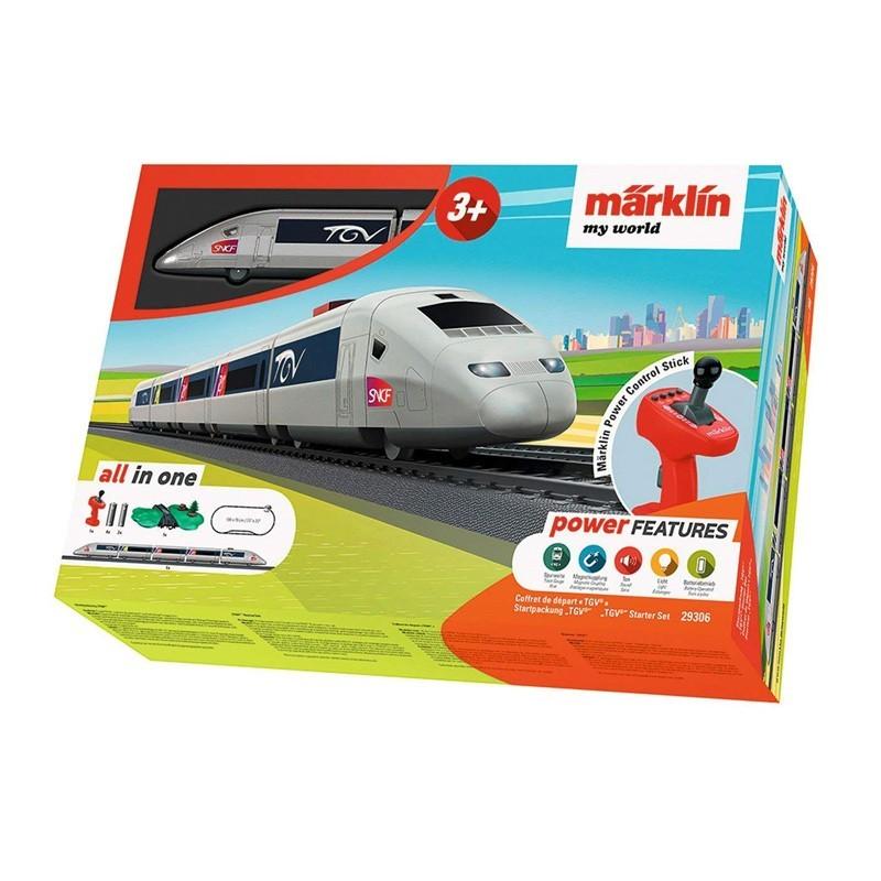 Marklin 29306. Set Iniciación H0 Tren TGV