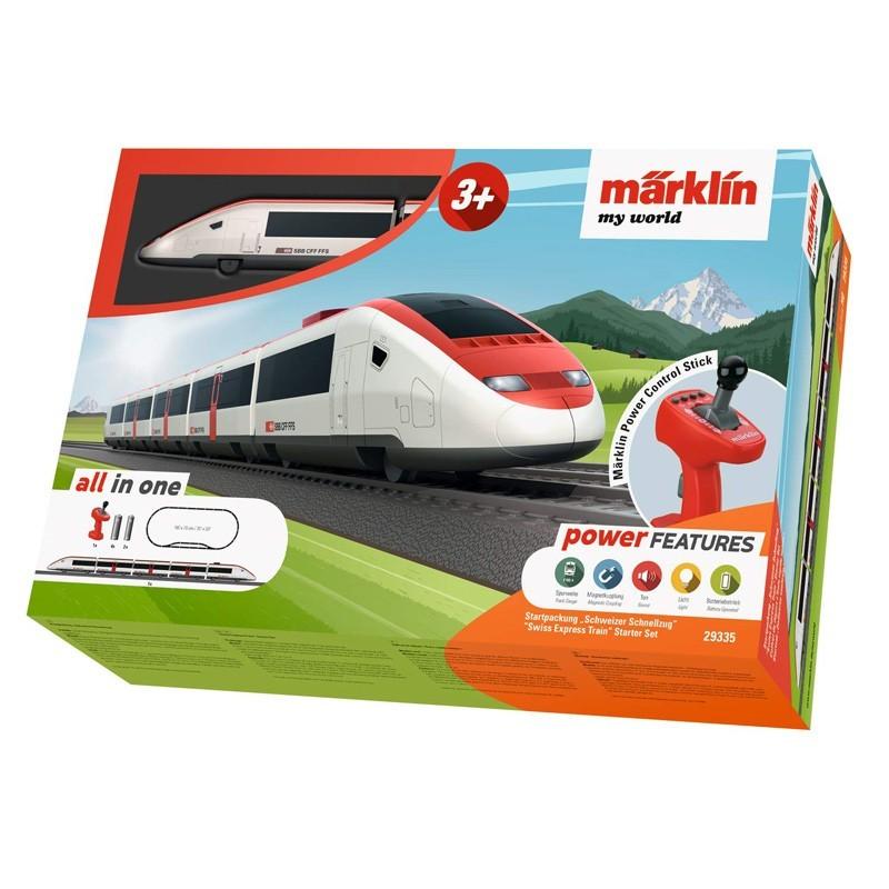 Marklin 29335. Set Iniciación H0 Tren Expresso Suizo