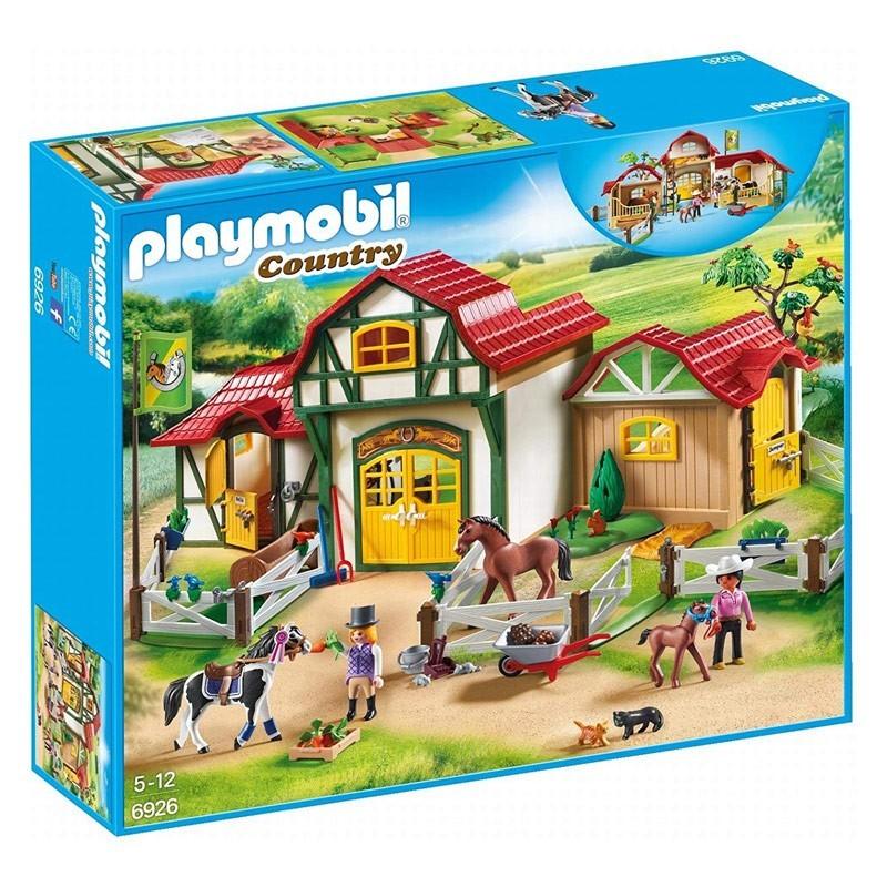 Playmobil 6926. Granja de Caballos