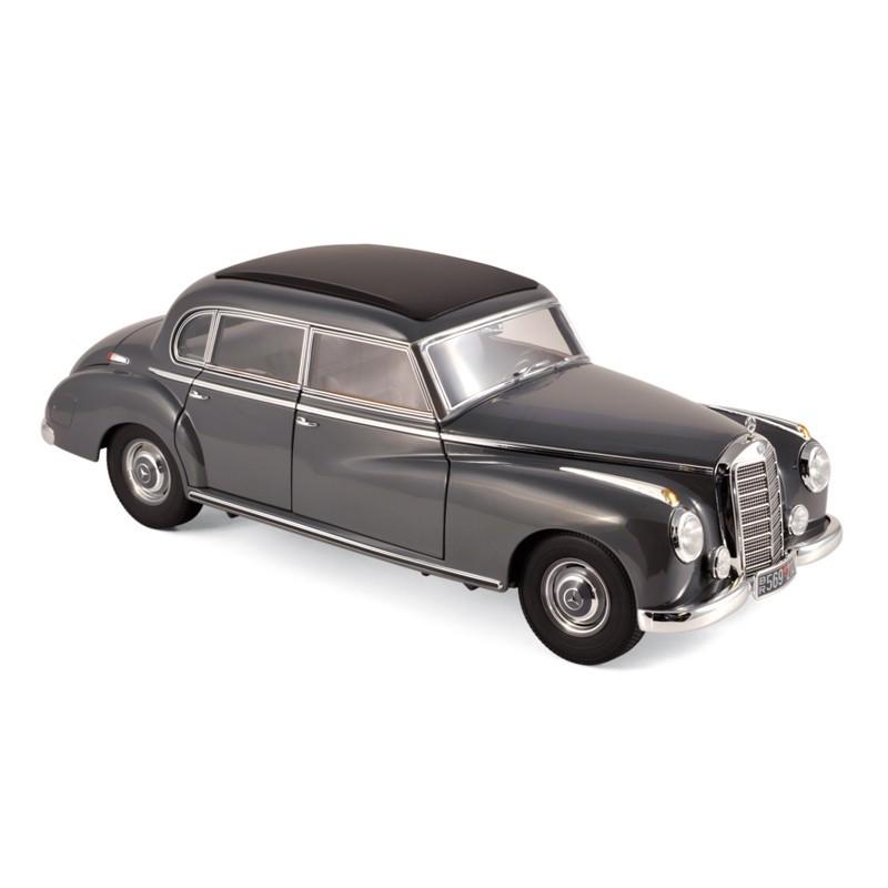 Norev 183591. 1/18 Coche Mercedes 300 1952 Gris Oscuro