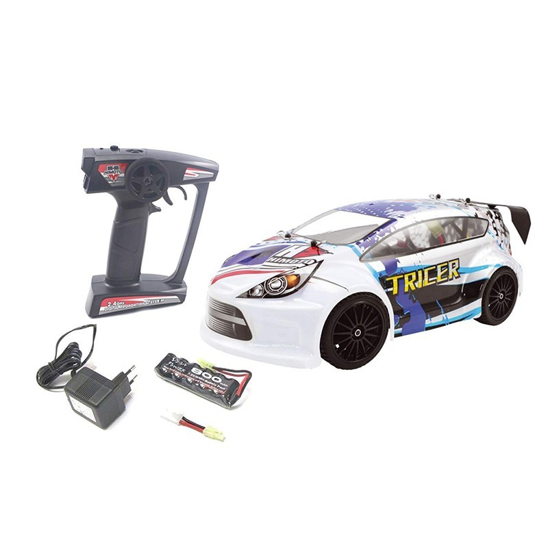 Himoto E18OR. 1/18 Coche Rallye Tricer Brushed