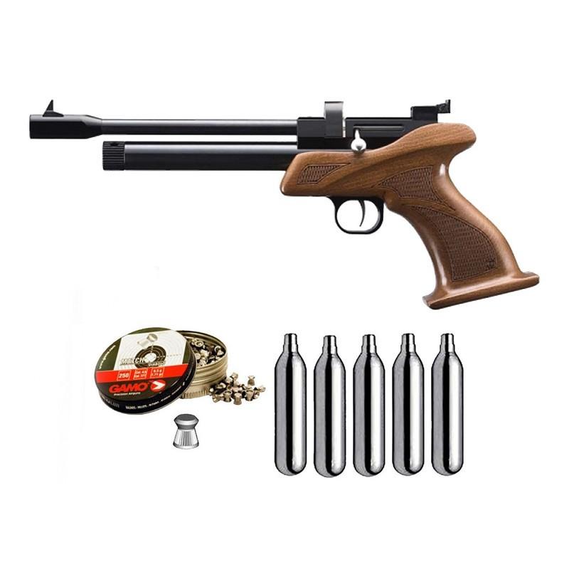 Zasdar ZCP1M55. Pack Pistola CP1 5,5mm 36580/29318
