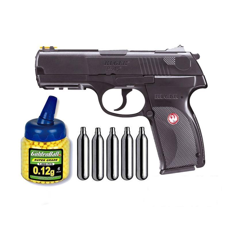 Umarex U25637. Pack Pistola Ruger P345 29318/21993