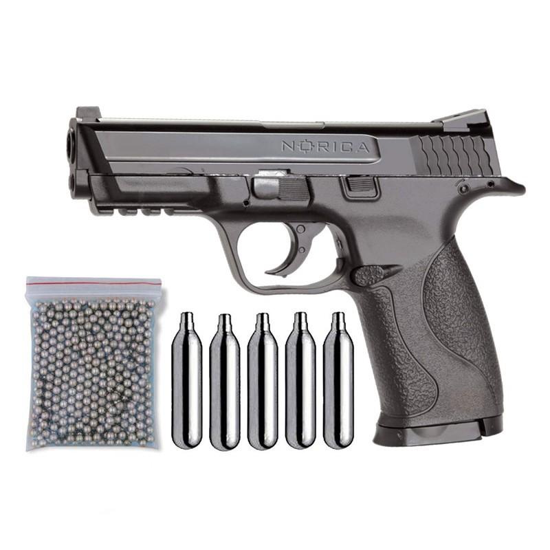 Norica 15000203. Pack Pistola NAC 1703 29318/38123