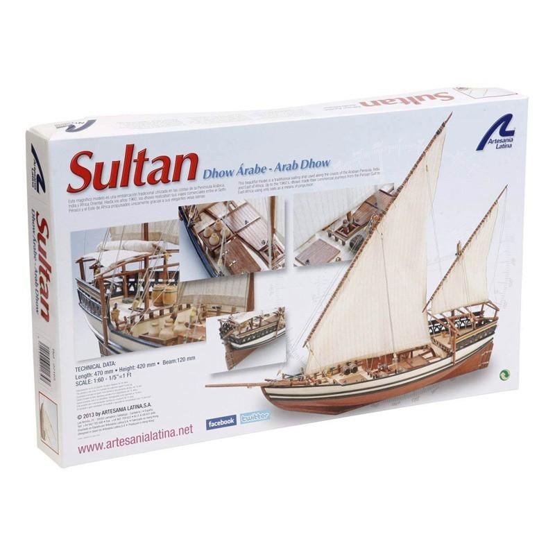 Artesanía 22165L. 1/85 Barco Sultán