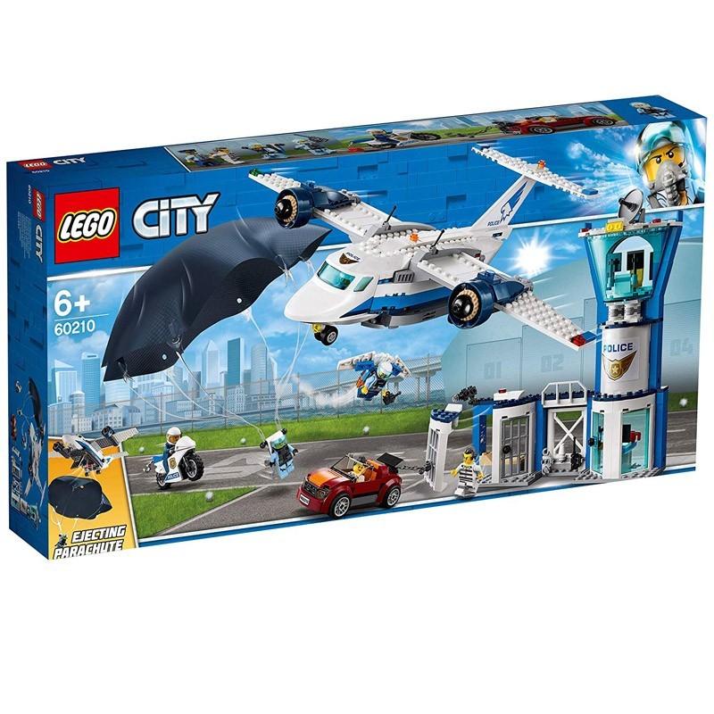 Lego 60210. Base de Operaciones Policía Aérea