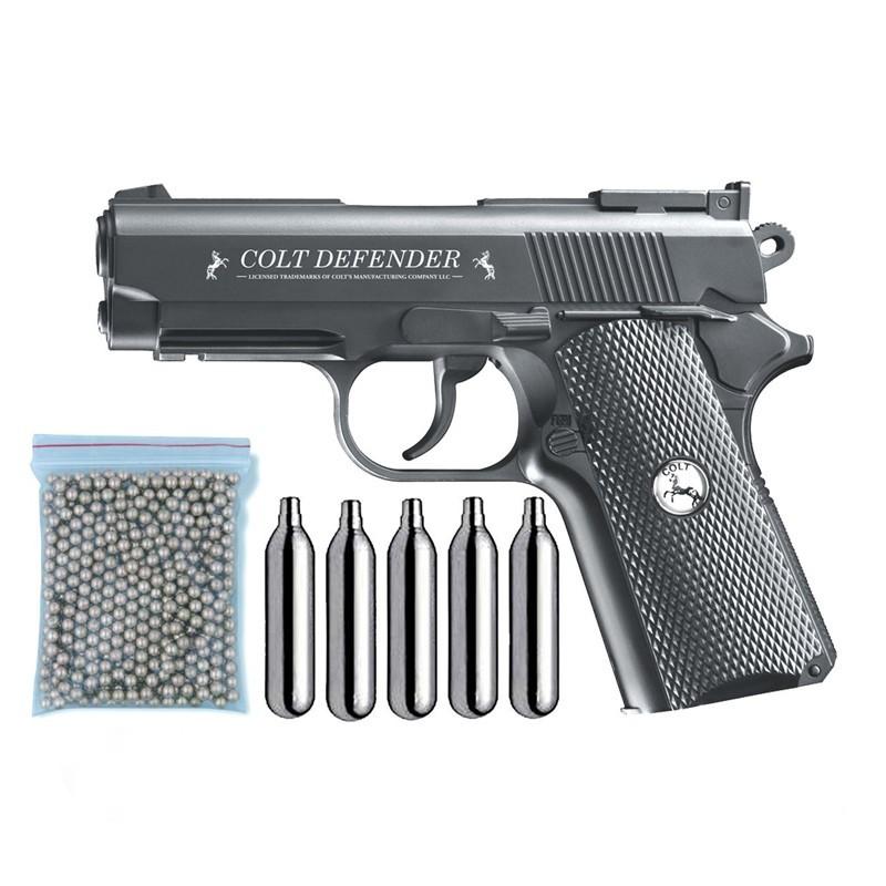 Umarex U58310. Pack Pistola Colt Defender 29318/38123