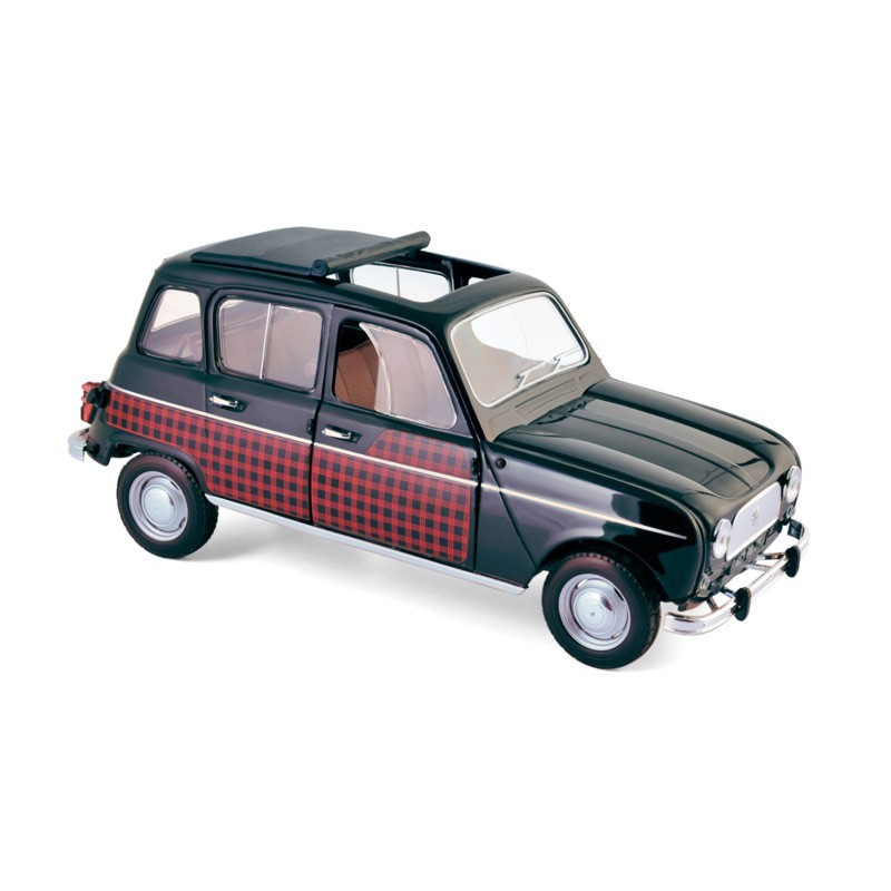 Norev 185242. 1/18 Coche Renault 4 Parisienne 1964 Rojo Negro