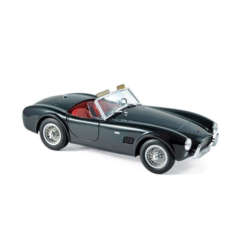 Norev 182754. 1/18 Coche Shelby AC Cobra 289 1963 Negro