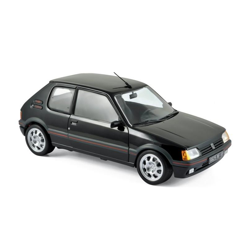Norev 184854. 1/18 Coche Peugeot 205 GTi 1.9 1988 Negro