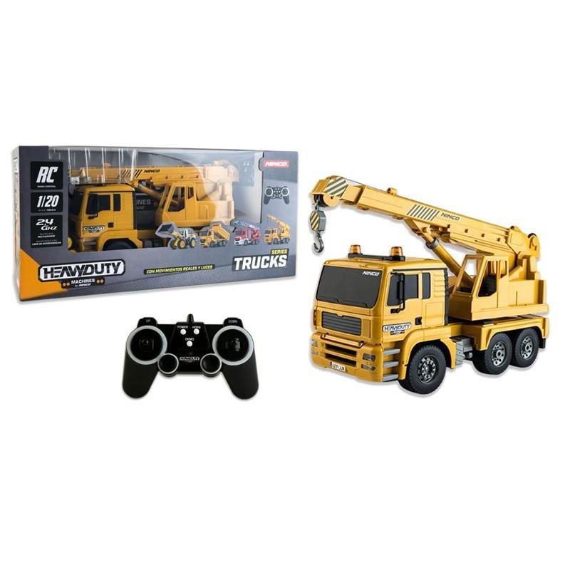 Ninco NT10033. Camión Grúa Radio Control