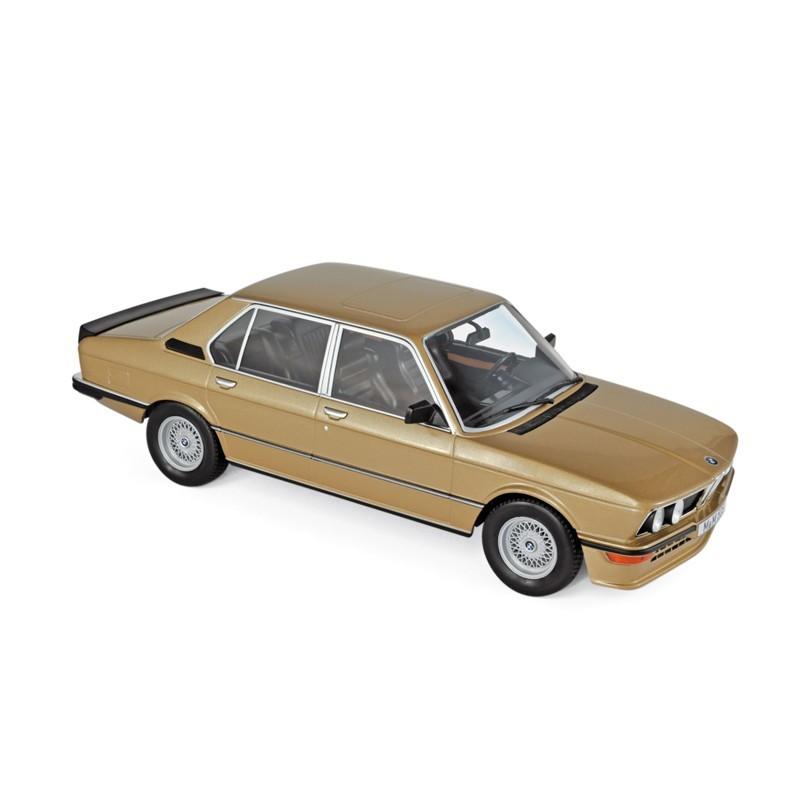 Norev 183268. 1/18 Coche BMW M535i 1980 Oro Metalizado