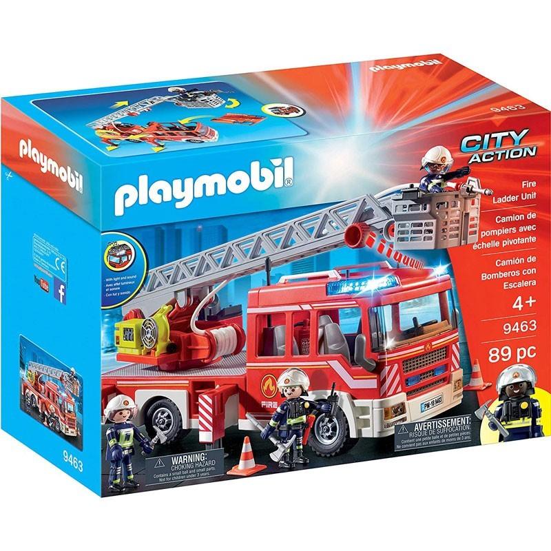 Playmobil. 9463. Camión Bomberos con Escalera