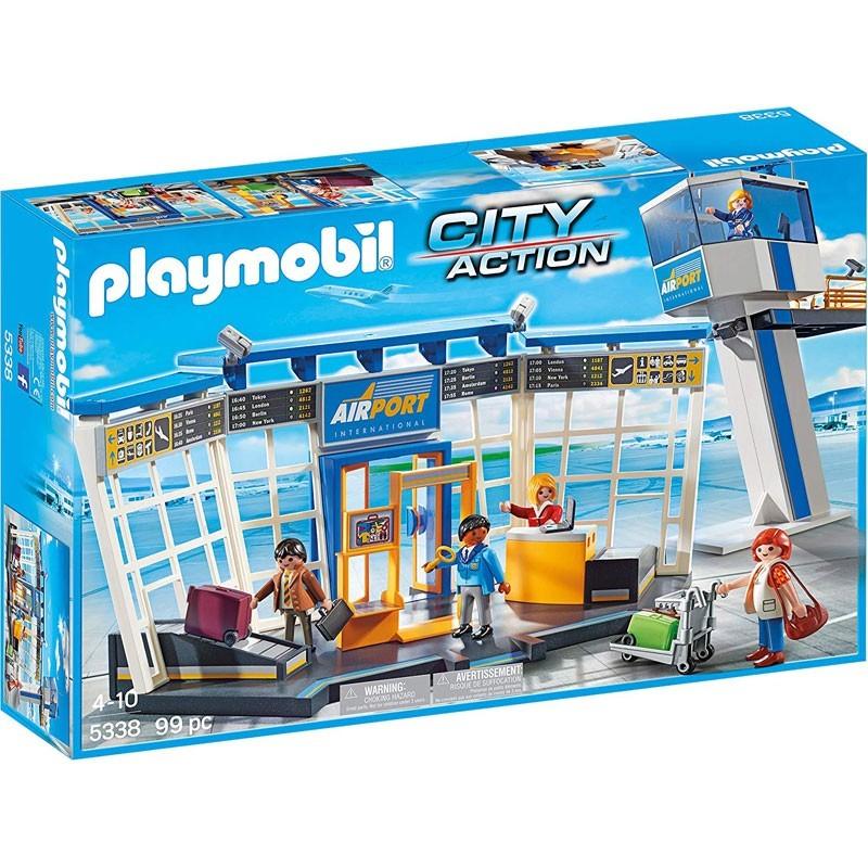 Playmobil 5338. Torre de Control y Aeropuerto