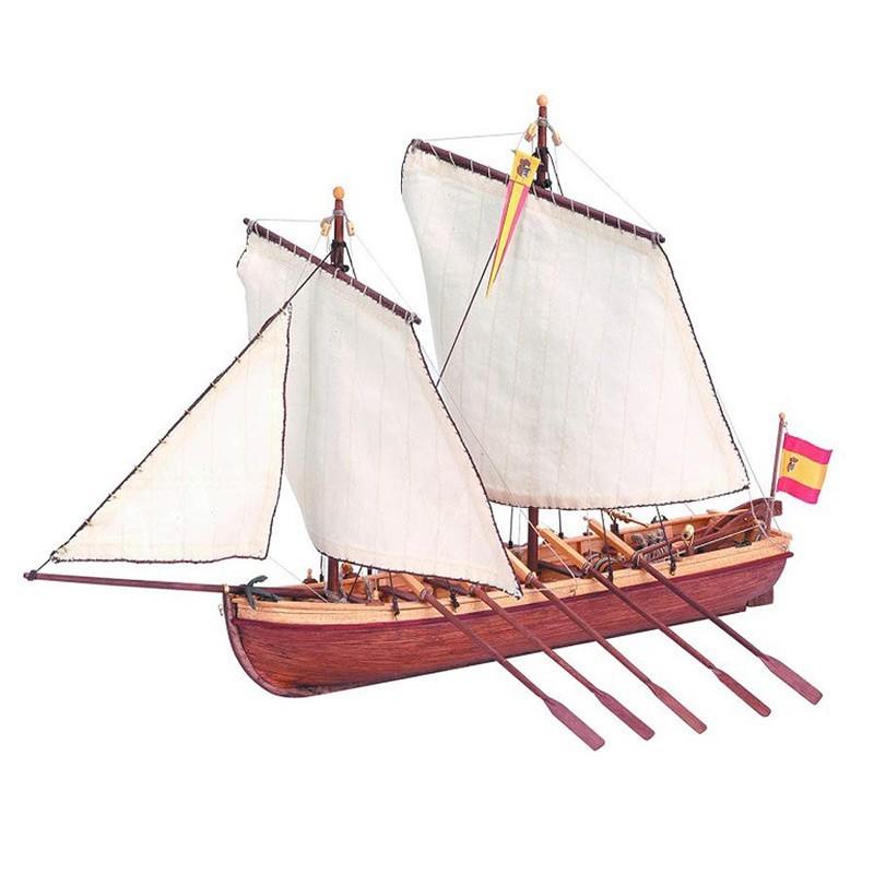 Artesanía 19014. 1/50 Lancha Capitán Santísima Trinidad
