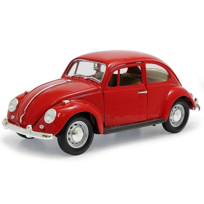 Yatming 92078. 1/18 Coche Volkswagen Beetle 1967 Rojo