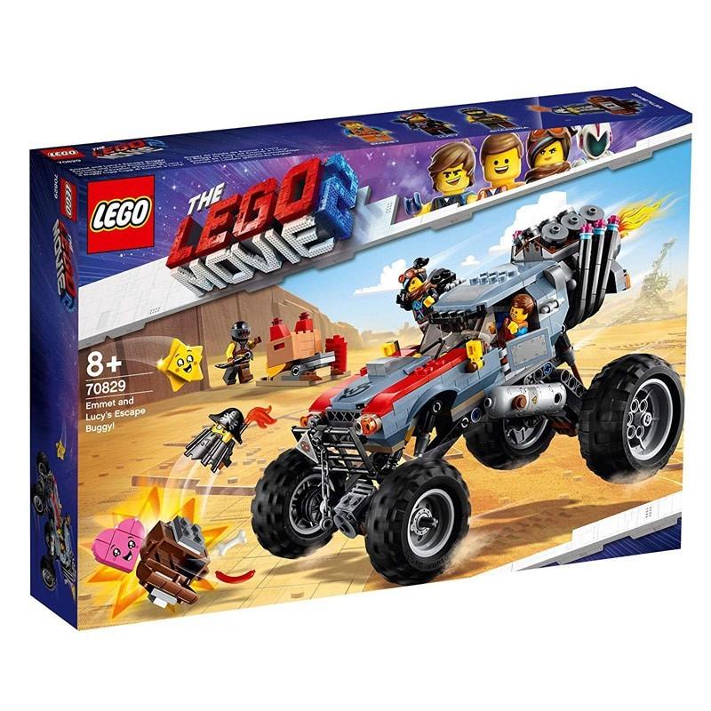 Lego 70829. Buggy Huida de Emmet y Lucy