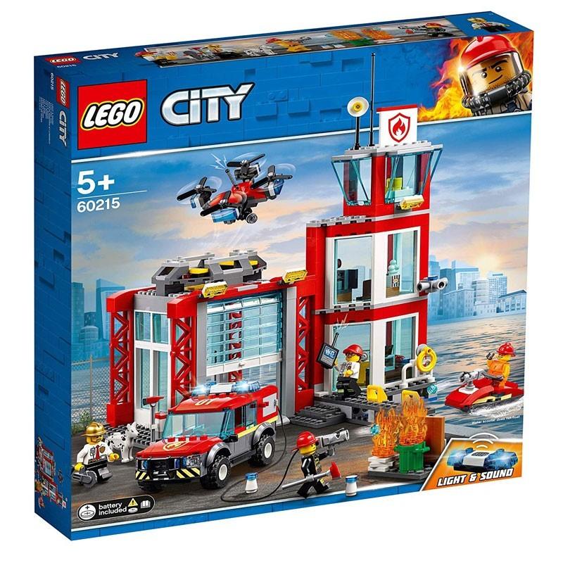 Lego 60215. Parque de Bomberos