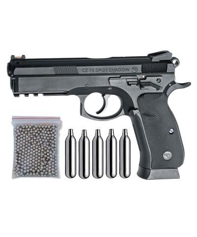 ASG 17526. Pack Pistola CZ SP-01 29318/38123