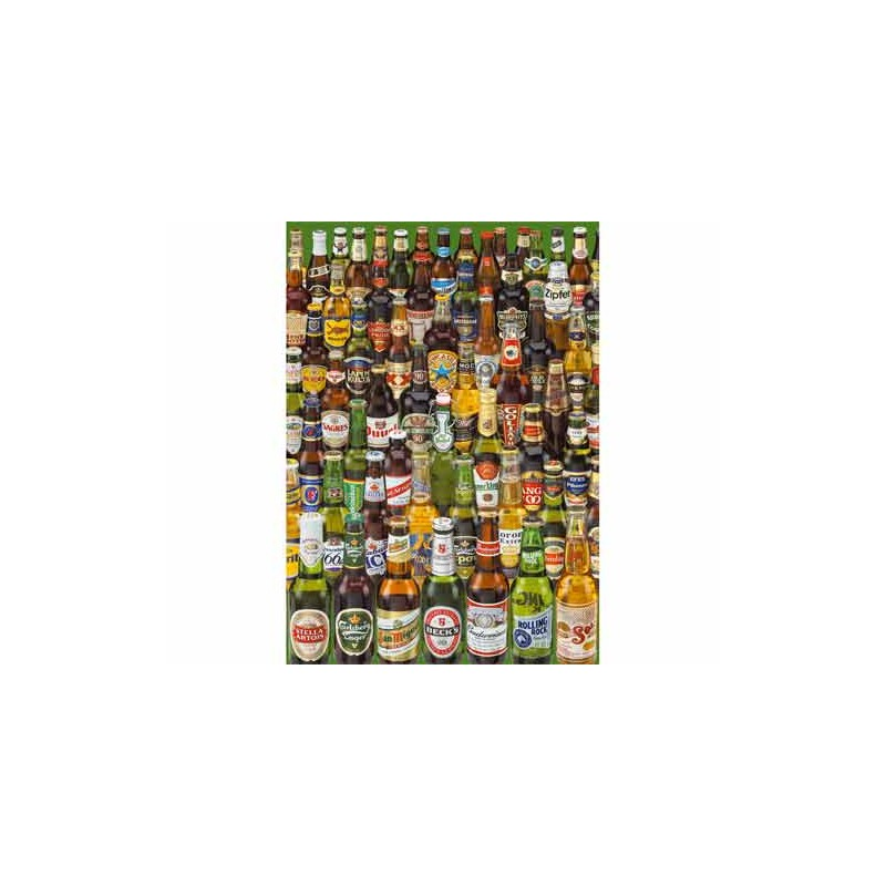12736. Puzzle Educa 1000 piezas Cervezas