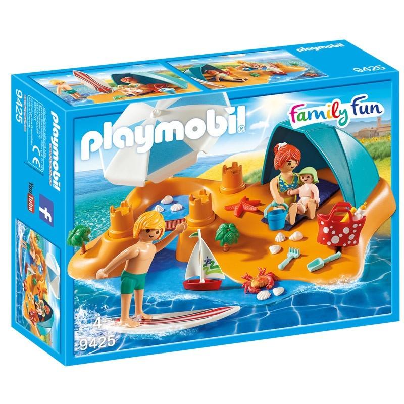 Playmobil 9425. Familia en la Playa