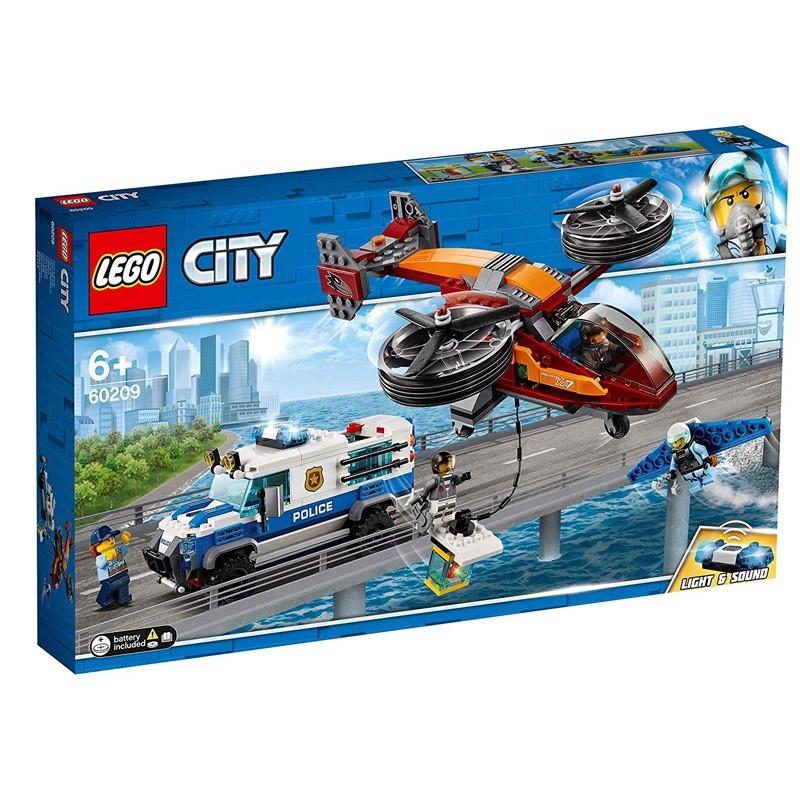 Lego 60209. Robo del Diamante
