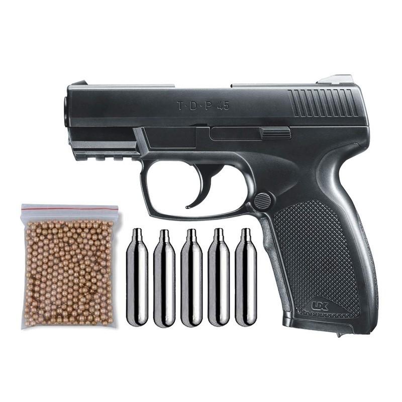 Umarex U58180. Pack Pistola UX TDP45 29318/38123