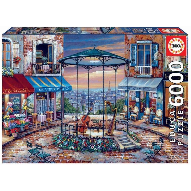 Educa 18016. Puzzle 6000 Piezas Preludio Nocturno París