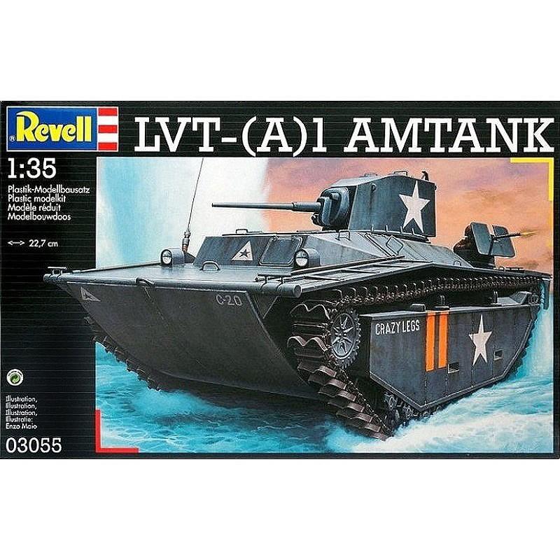 Revell 03055. 1/35 Tanque LVT A-(1) AMTANK