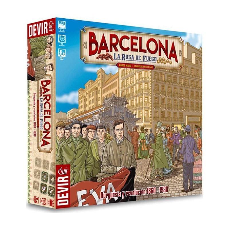 Devir BGBCN. Barcelona: La Rosa de Fuego