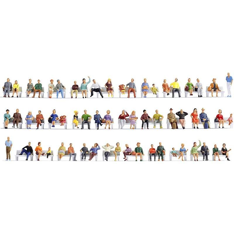 Noch 38402. Set 60 Figuras Personas Sentadas N